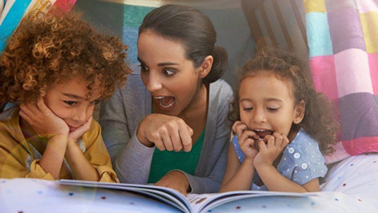 تشجيع الأطفال على القراءة